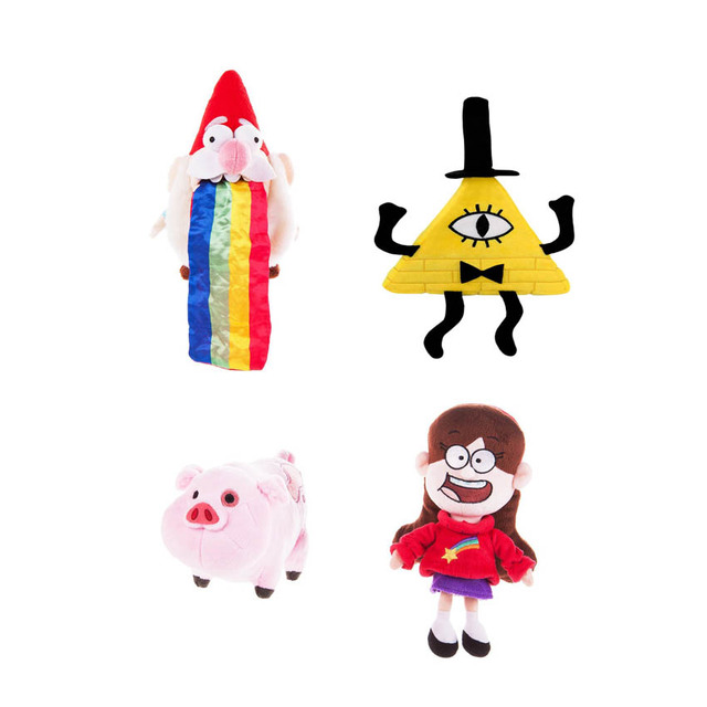 American Animation Character Plush Gravity Falls Cute Pink Pig
