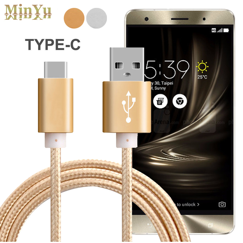 3FT Type C Sync Charge Cable for Asus Zenfone 3 ZE552KL /Zenfone 3 Deluxe ZS570KL /Zenfone 3 Ultra ZU680KL Zenpad Z580  ZT581KL samsung rs 552 nruasl