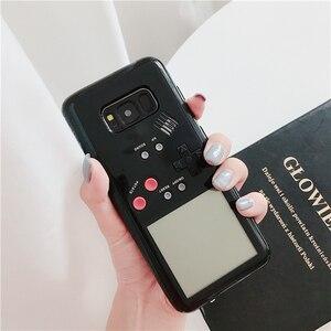 Image 3 - Retro Gameboy Tetris Ốp Lưng Điện Thoại Samsung Galaxy S8 S9 Plus Ốp Lưng Chơi Máy Chơi Game Bao Siliconen Di Động Vỏ Coque