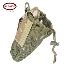 Mesh Water Bottle Pouch Cordura Material Camouflage Outdoor Storage Military Tactical Bag Army Hunting Airsoft Accessories outdoor hunting duck decoy bag mesh backpack with shoulder straps drake goose storage net bag polyester mesh army green 100 x 75