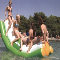 Water teetertotter 3*1.2 M size 40 KG water game water toys summer swimming play on the park late sea water park