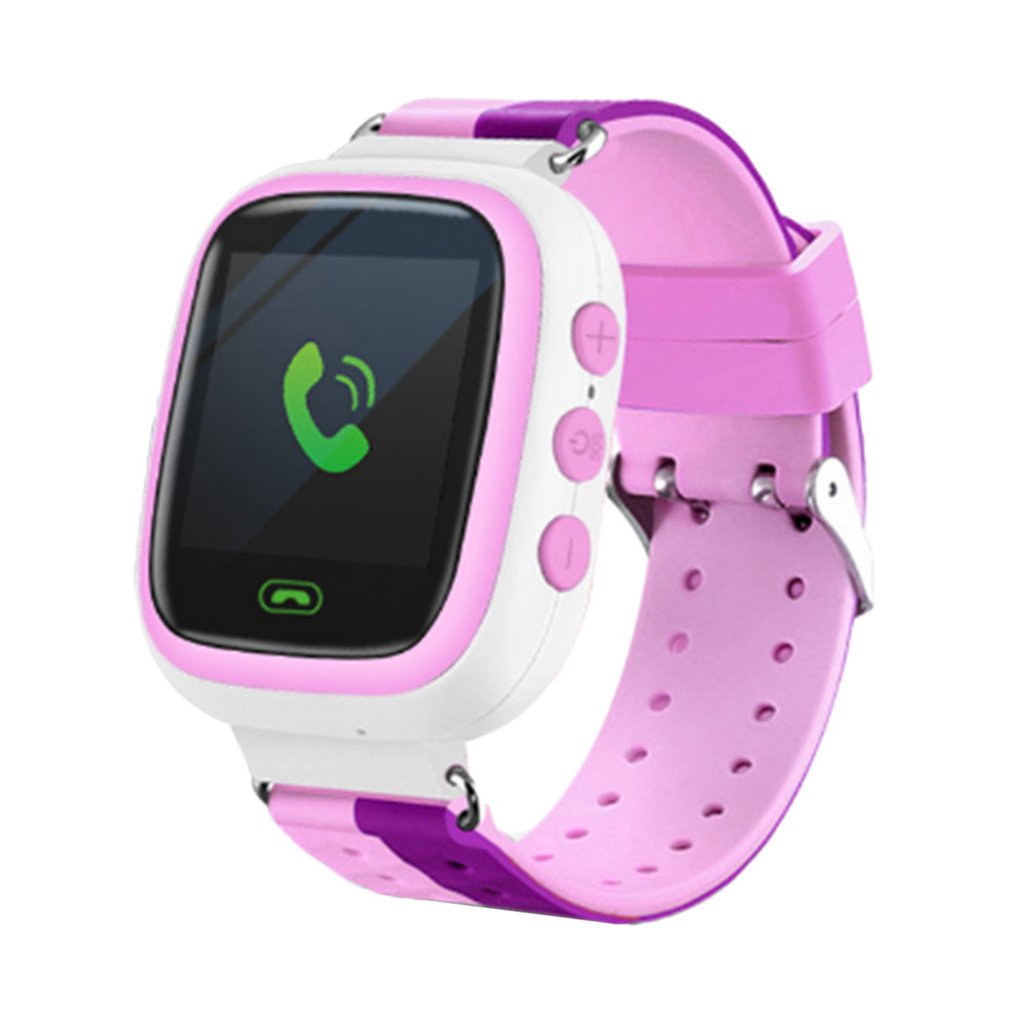 Q80 Children Smart Alarm Clock Baby Call Sos Anti Lost Tracker Location Children Colorful Screen Outdoor Sports Support SIM Card