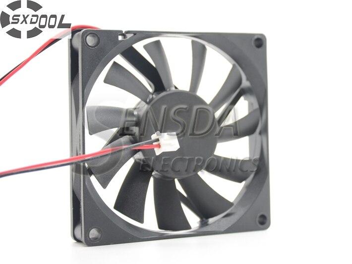 SXDOOL 12 v kugellager fan 8015 8 cm 80mm 0.22A 2 wire server inverter kühlung kühler