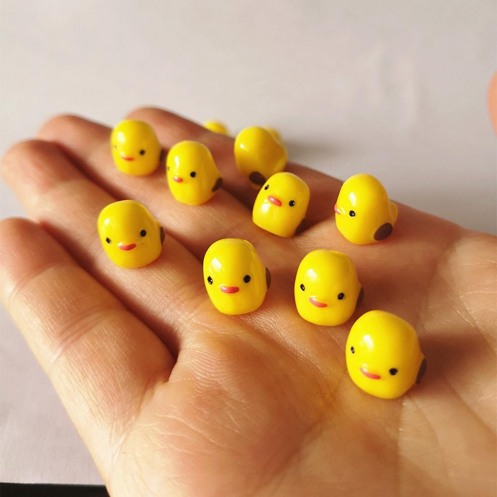 Slime charms 10PCS Mini Slime Charms Animals Cartoon Cute Duck Rabbit Cow Slime Accessories Making Supplies For Crafts 11