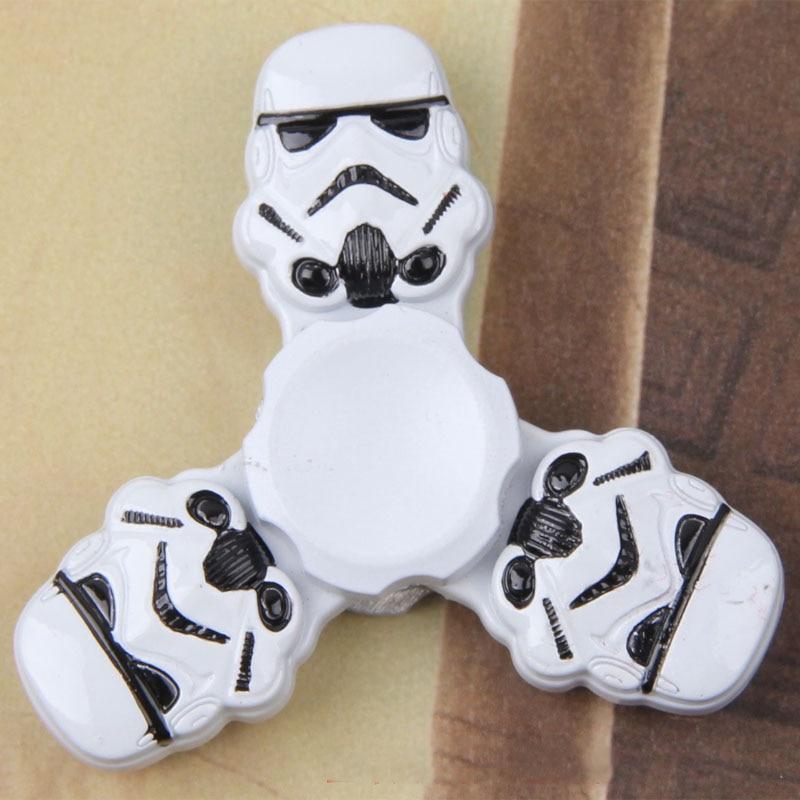 Star Wars Fid Spinners Metal Aluminium Darth Vader Storm Trooper