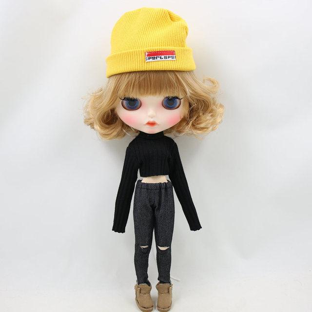 نئو بالتیک عروسک سیاه برداشت بالا با پت و کلاه