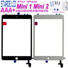 Starde for iPad Mini 1 Mini 2 A1432 A1454 A1455 A1489 A1490 A1491 Touch Screen Digitizer Sensor with Key Button mini1 mini2 Part все цены