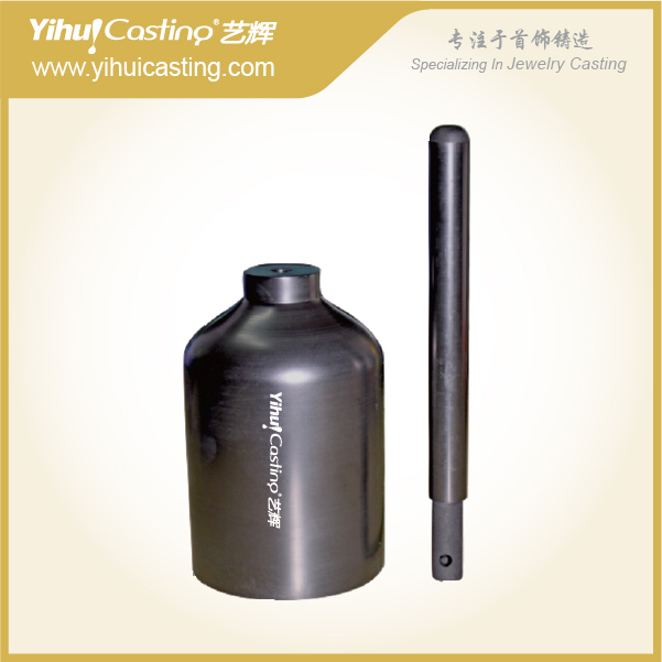 Isostatic Yihui graphite crucible for VC500,crucible graphite, top graphite crucible,casting crucibleG.GC.V011/V011S бур graphite 57h534