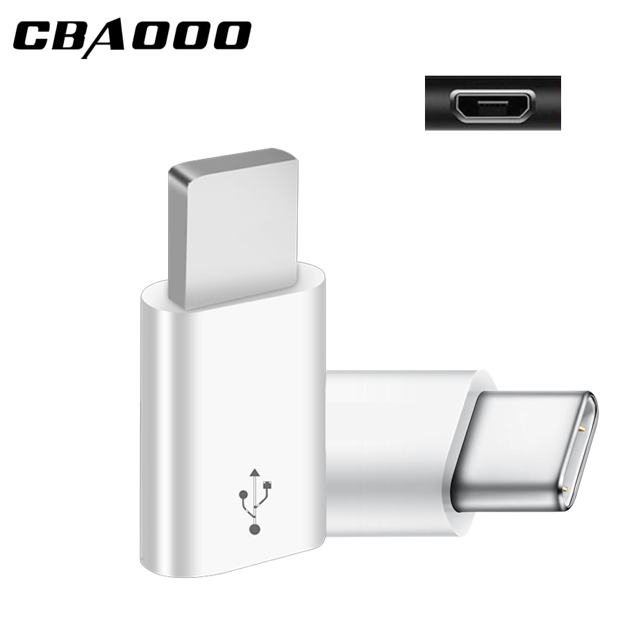3Pcs Micro USB Female To Type C Male Otg Adapter Connectors For IPhone Xiaomi Mi 8 Redmi Huawei Oneplus Samsung S8 Plus S9 Note