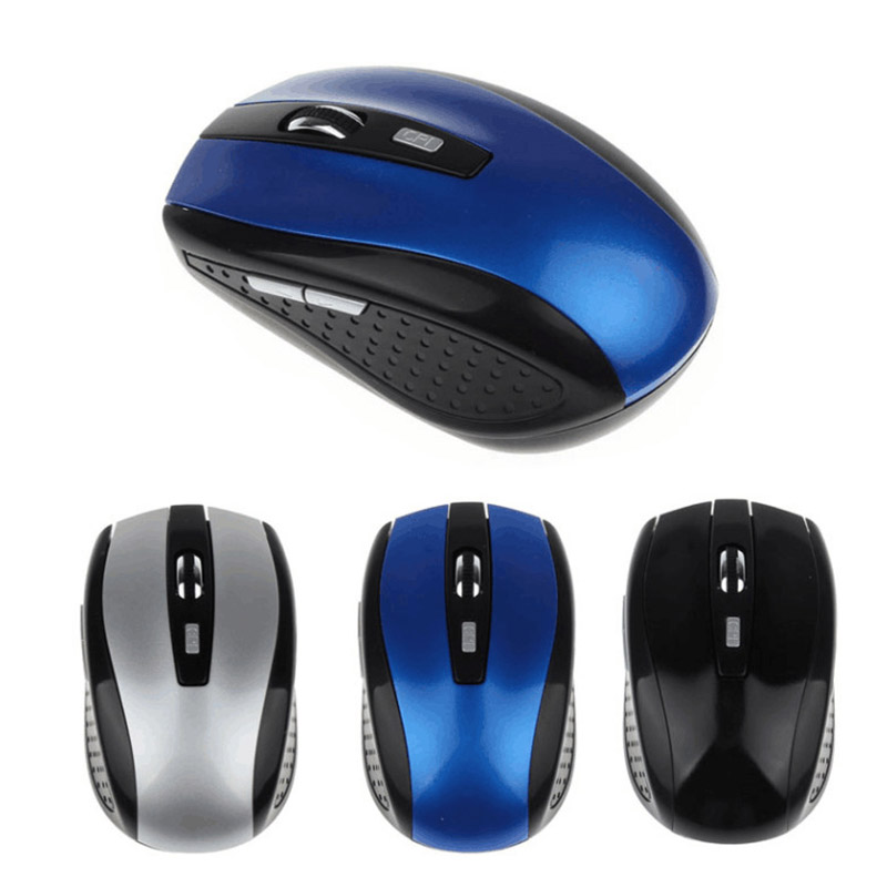 2.4GHz Wireless Mouse Wireless Cordless Optical Mouse  With Fast Scrolling USB Interface PC Laptop