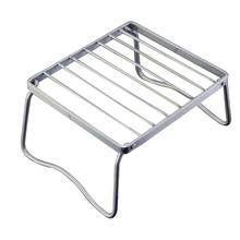 Kitchen-Tools Garden-Rack Barbecue-Grill Folding Stainless-Steel Outdoor Mini Portable