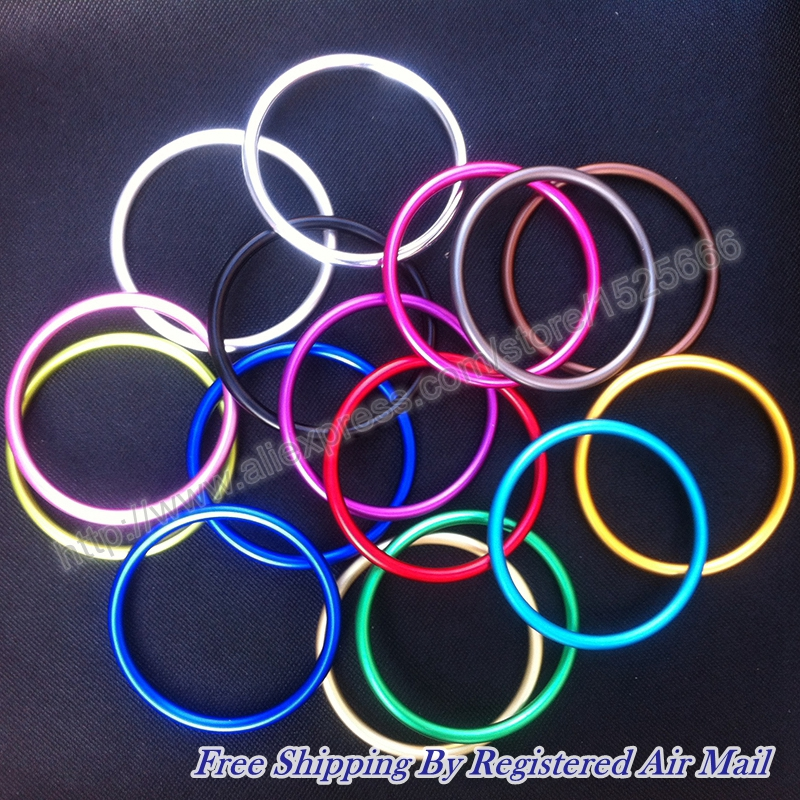 40pcs/20pairs 3inch High Quality Breathable Aluminum Baby Sling Ring