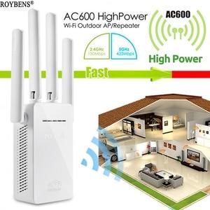Image 1 - Wifi مكرر مكبر صوت أحادي اللاسلكية 4G راوتر مزدوج النطاق واي فاي المدى موسع الداعم شبكة واي فاي 4 هوائي راوتر لاسلكي