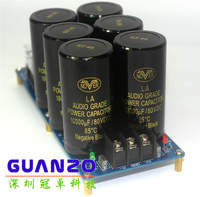 2018 high power amplifier board positive and negative double power rectifier filter power board parts HIFI fever 6 10000uF NOVER