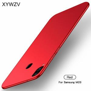 Image 3 - สำหรับ Samsung Galaxy M20 Case Silm Luxury Ultra Thin Hard PC สำหรับ Samsung Galaxy M20 ฝาครอบสำหรับ Samsung M20 Fundas