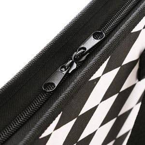 Image 5 - الأزياء مجلد متسع لحفظ الملفات للمستندات حالة A4 حقيبة مستندات متعددة جيب منظم الملفات سستة حقيبة