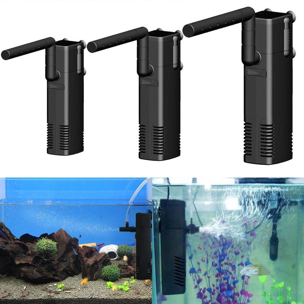 AP-300/600/100L Aquarium Internal Filter Submersible Filter For Fish Tank Aquatic Spray Flow Biological Plus Power Filter Pump