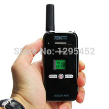 Two way mini ham radio Black TDQ7 UHF 400-480MHz 3W flash light walkie talkie transceiver 1800mah li-ion battery(China)