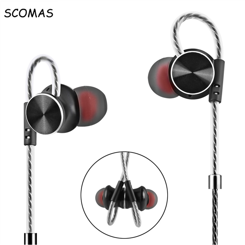 SCOMAS Universal 3.5mm In-Ear Stereo Headset Headph
