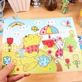 5Pcs DIY Sketchers Children Painting Of Diamond Crystal Mosaic Stereo Stickers Puzzle Toys Baby Magic Handmade Paste Drawing Toy