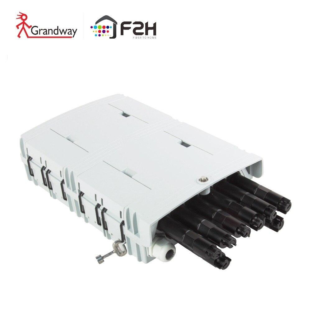 [Grandway ODN] préterminé FTTH 8 noyaux intérieur et extérieur fibre optique boîte à bornes FTB F2H-FTB-8-F
