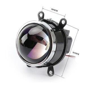 RONAN 3.0 Bixenon Fog Light M6 Waterproof HID Projector Lens H8 H9 H11 Lamps Blue Coating HD glass car styling retrofit
