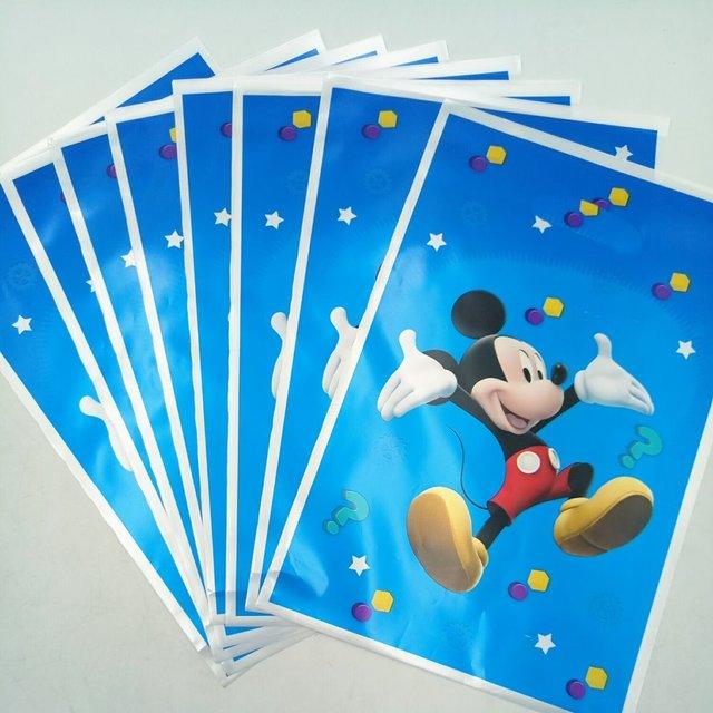 10 Stucke Mickey Mouse Party Supplies Gift Bag Sussigkeiten Beutetasche Cartoon Thema Partei Festival