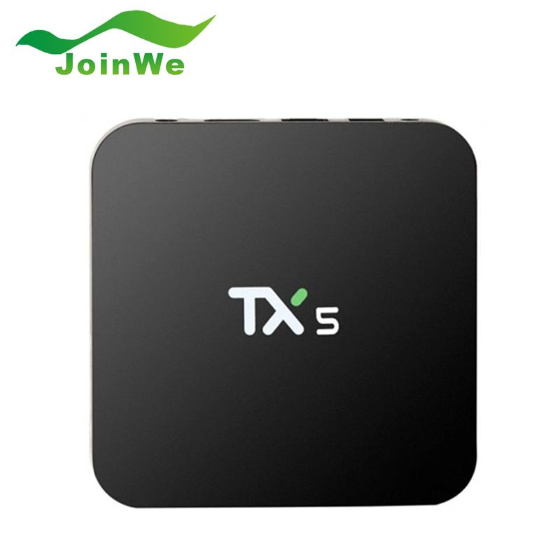 ФОТО 2016 TX5 2G/8G Amlogic S905X Android 6.0 Smart TV BOX  HD 4K Fully KODI 16.1 Quad core Media Player Set Top TV Box