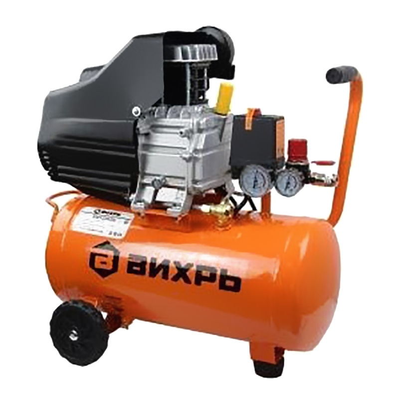 Compressor electric Vihr KMP-260 24 portable air compressor electric pump with barometer
