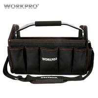 WORKPRO 16 FOLDABLE TOOL BAG 600D Shoulder Bag Handbag High Quality New