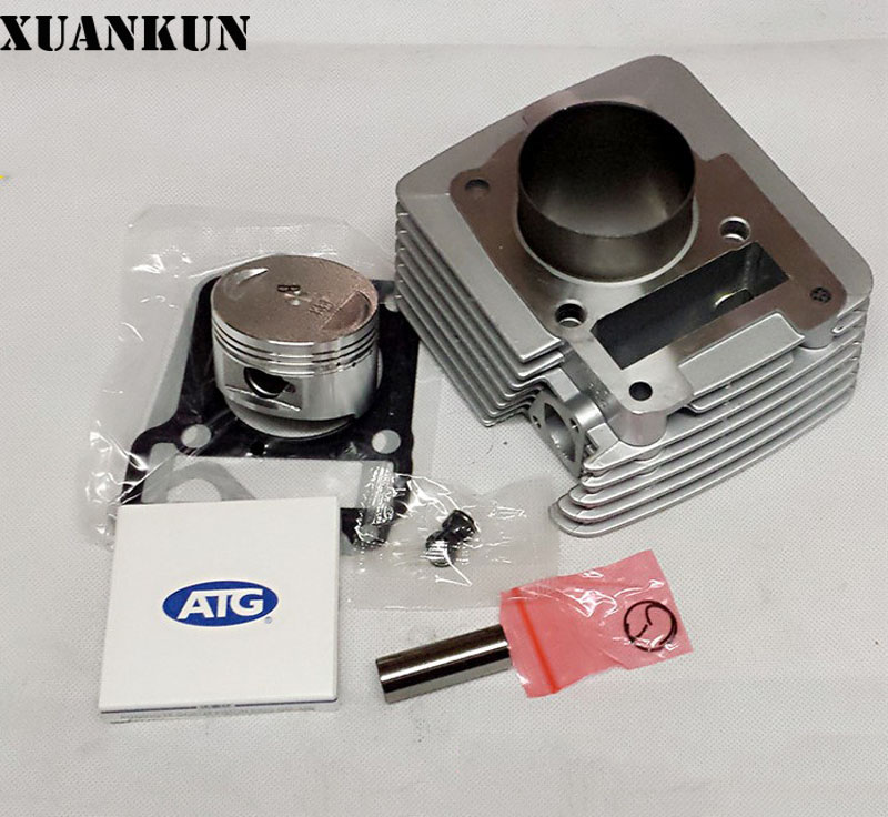 XUANKUN JS125-6A/B-28-28A/B-V6 modifié 150CC ensembles de combinaison de cylindres