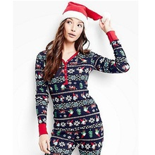 2017 Women Autumn Winter Clothes Christmas Parents and Children Set Print Family Clothing Casual Pajamas Sets Two Pieces Suits