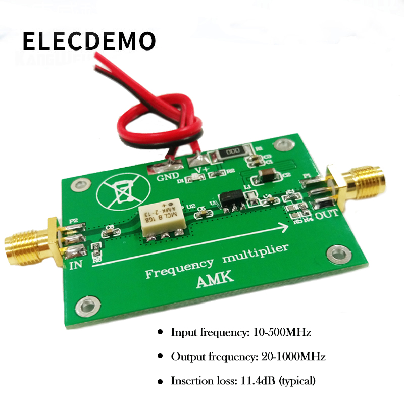 AMK-2-13 Double Frequency Multiplier 50Ω 20-1000MHz Output Passive Multiplier Designed With Original MINI Device