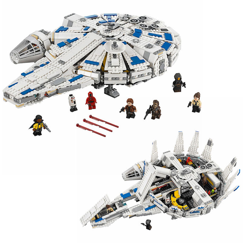 05142 Starwars Force Wekt Millennium Compatibel Legoingly Star Wars 75212 Speelgoed Falcon Model Bouwstenen Jongens Speelgoed