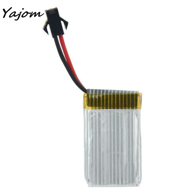 2017 2PC 7.4V 500mAh Lithium Battery for JJRC H8C H8D RC Quadcopter Spare Part Brand New High Quality Mar 30