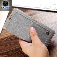 For Samsung S7 S7 Edge Case Luxury Magnetic Soft Silicone Denim Leather Armor Flip Protective Shockproof