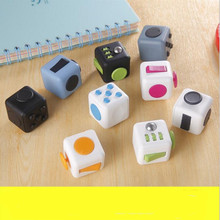 Fidget Squeeze Fun To Relieve Stress Gifts Cube Playful Relieves Anxiety And Stress For Adults Kids Fidgetcube Giro Desktop Toys