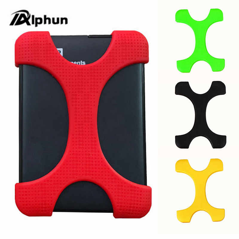 """Alphun 2.5 """"Shockproof Hard Drive Disk HDD Silicone Case Cover Protector voor Seagate Backup Plus Externe Harde Schijf"""