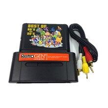 FÜR RetroGEN lassen sie spielen sega gensis spiel patrone auf Für SNES konsole mit 196 in 1 klassische spiele