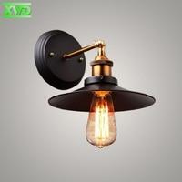 Single Head Vintage Iron Indoor Wall Lamp Coffee House Club Dining Hall Foyer Shop Lighting E27