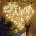 Пульт дистанционного управления Love Heart 2*1 5 м светодиодная гирлянда для занавесок  оконная гирлянда  светодиодная гирлянда на День святого В...