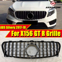 X156 GTS Grille grill ABS silvery Without Sign For MercedesMB GLA Class GLA180 CLA200 CLA220 GLA250 GLA45 front grills 2017-in
