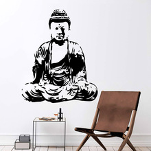 Romantic Buddhism Wall Decal Art Vinyl Stickers For Kids Rooms Decoration Creative