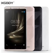 Xgody Y18 смартфон 6 дюймов 1 ГБ Оперативная память 16 ГБ Встроенная память 4 ядра 2800 мАч GPS 8MP двойной Мобильные SIM-карты Android 5.1 телефон 3 г разблокирована сотовый телефон