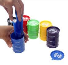 2016 hot sale1 Pcs  New Barrel Slime Fun Shocker Joke Gag Prank Gift Crazy Trick Party Supply Paint Bucket Novelty Funny Toys