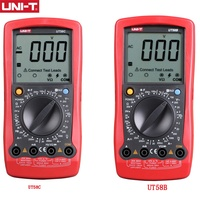 UNI T UT58B/UT58C Manual Range General Digital Multimeter; Resistance/Capacitance/Frequency/Temperature Test 20A