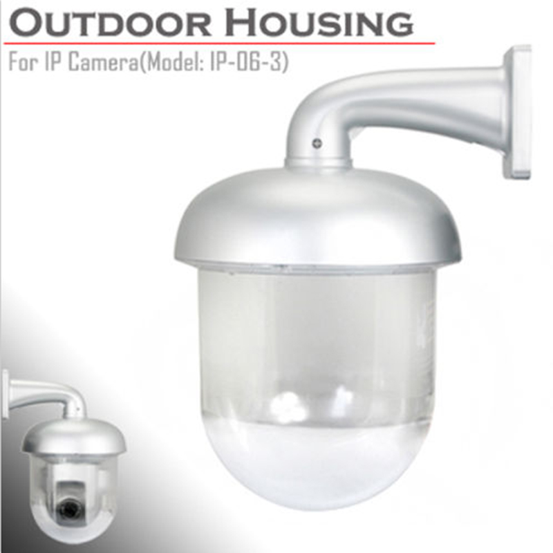 CCTV IP66 Outdoor Waterproof Housing Enclosure IP Dome Camera Shield Waterproof Protection Case for Security Dome Camera