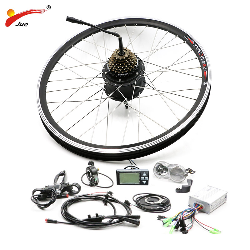Electric Bike Conversion kit with 36v Rear Hub Motor Bicycle Ebike Kit for 20 26 700C Brushless Grear Wheel for Electric BikeElectric Bike Conversion kit with 36v Rear Hub Motor Bicycle Ebike Kit for 20 26 700C Brushless Grear Wheel for Electric Bike