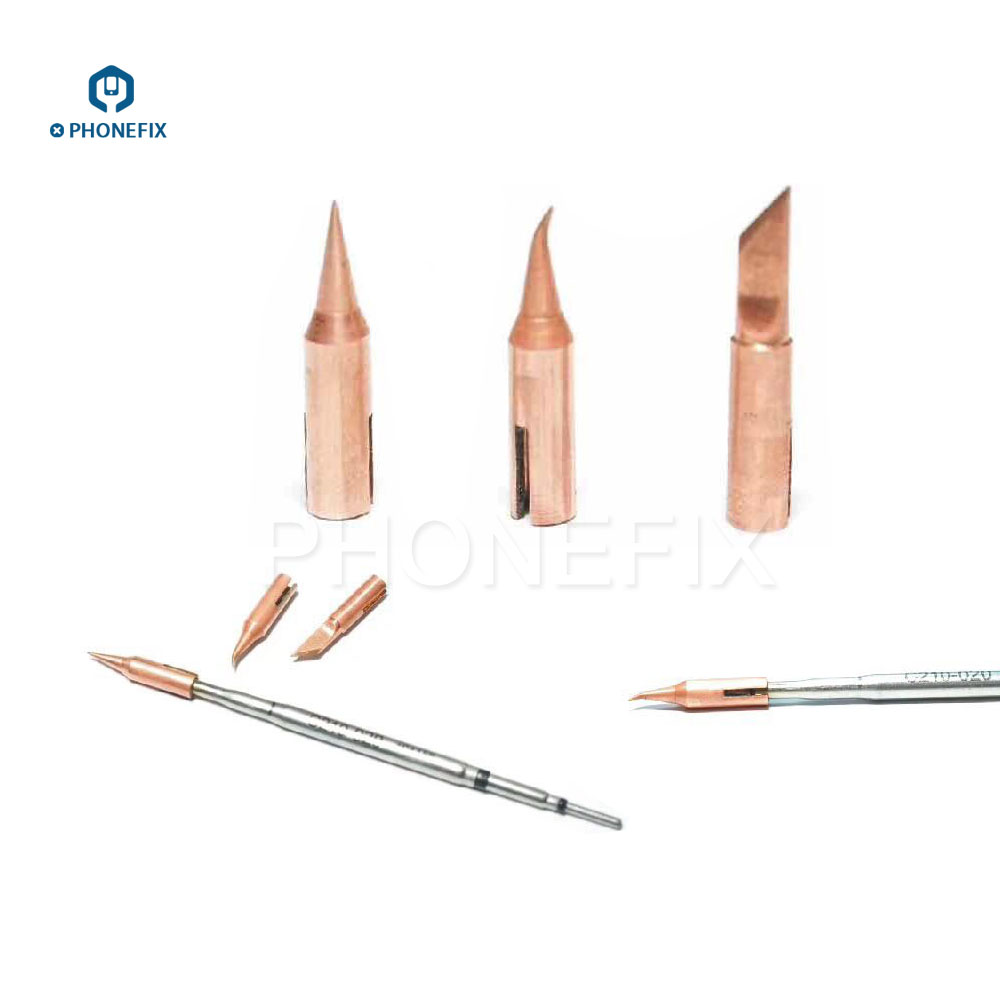 Image 3 - PHONEFIX JBC T210 Soldering Iron Tip T SK T I T IS Replaceable Small Welding Iron Tips for Mobile Phone PCB Soldering Repair-in Welding Tips from Tools