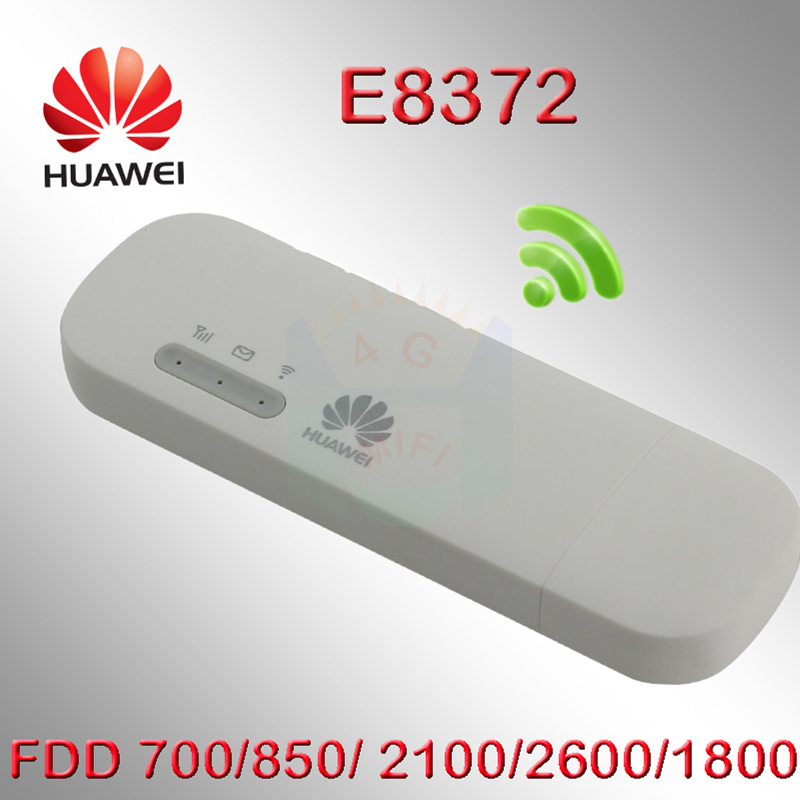 Unlocked Huawei E8372 4g 3g usb wifi modem 3g 4g usb stick E8372h-608 4g  router usb router 4G mifi Modem Wingle wifi router car